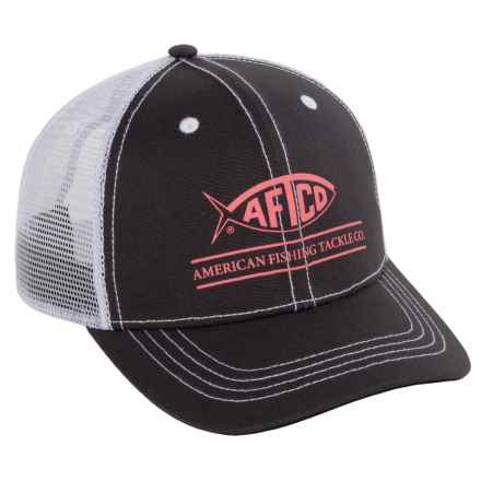 AFTCO Adjustable Trucker Hat in Timeless - Closeouts