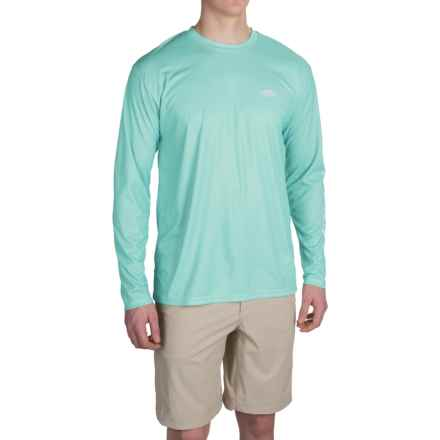 AFTCO Cipher Shirt - UPF 50, Long Sleeve (For Men) in Mint - Closeouts