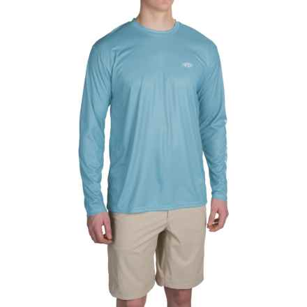 AFTCO Cipher Shirt - UPF 50, Long Sleeve (For Men) in Sky - Closeouts