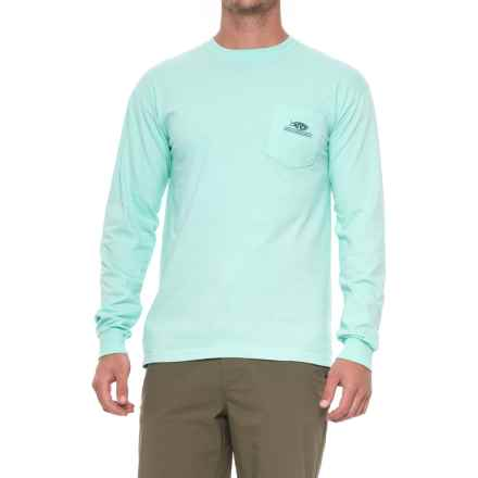 AFTCO Don't Limit Me Shirt - Long Sleeve (For Men) in Vintage Maui - Closeouts