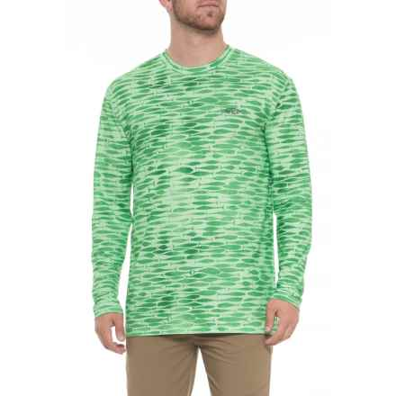 AFTCO Man Ray Shirt - UPF 40, Long Sleeve (For Men) in Green Ash - Closeouts