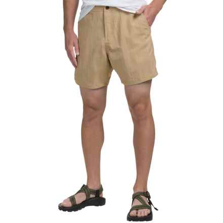 AFTCO Reeltime Shorts - UPF 40, Flat Front (For Men) in Khaki - Closeouts