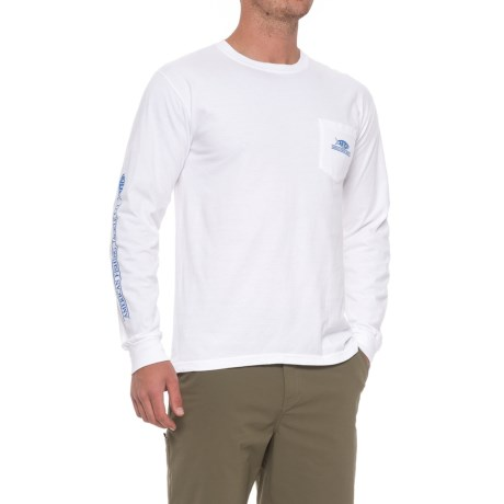 AFTCO Speed Shirt - Long Sleeve (For Men) in Vintage White