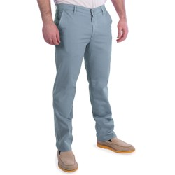 AG Jeans Cotton-Rich Khaki Pants (For Men) in Sulfur Blue Breeze