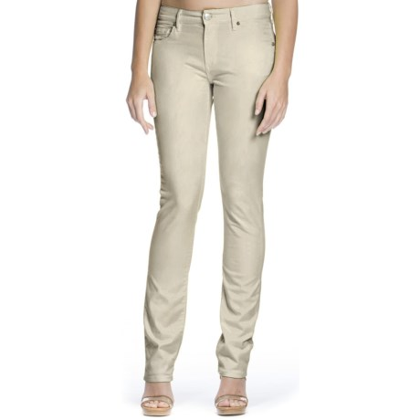 Agave Athena Jeans - Curvy Cut, Straight Leg (For Women) in Fog