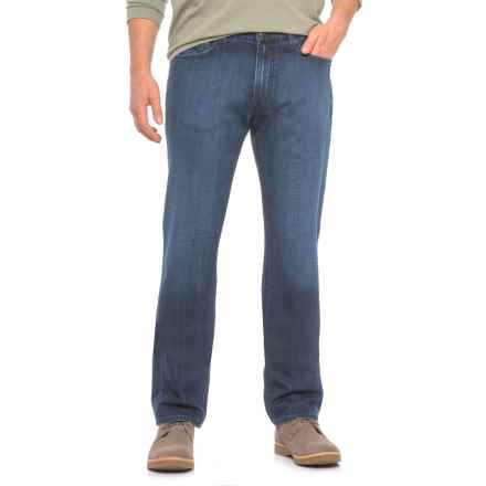 Agave Athletic Fit Jeans (For Men) in Sandspit Supima Dark - Closeouts