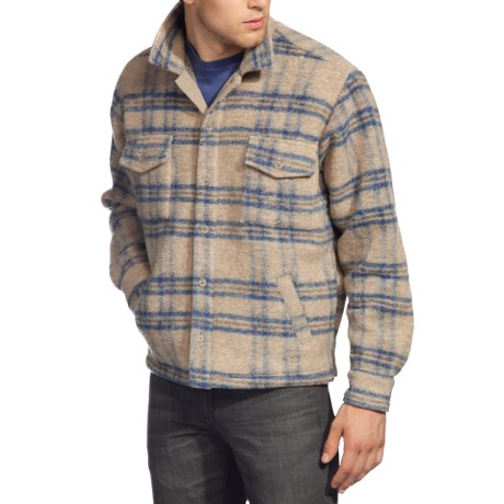 Agave Bighorn Soft Coat (For Men) in Beige Plaid