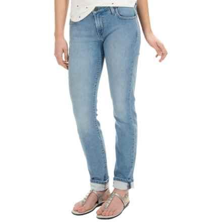 Agave Delgada Classic Cut Skinny Jeans (For Women) in Blue Ginger Light - Overstock