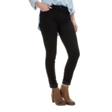 Agave Delgada Classic Jeans - Skinny Leg, Mid Rise (For Women) in Basalt Stretch - Closeouts