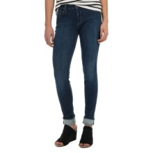 Agave Delgada Classic Skinny Jeans - Italian Denim Mill (For Women) in Manhattan Stretch - Overstock