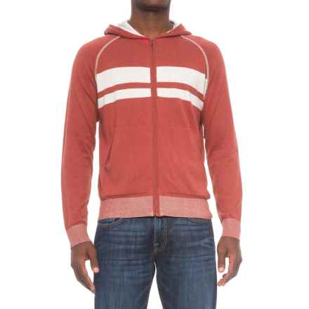 Agave Denim Agave Dorian Supima® Cotton Hoodie - Zip Front (For Men) in Ag-Tandori Spice - Closeouts