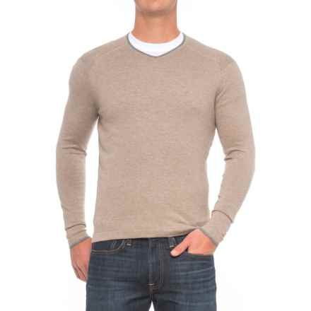 Agave Denim Alma Sweater - Cotton-Modal (For Men) in Fungi - Closeouts