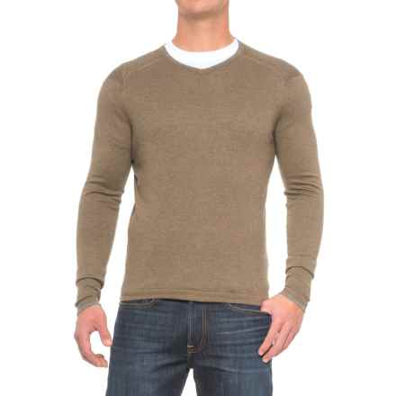 Agave Denim Alma Sweater - Cotton-Modal (For Men) in Tarmac - Closeouts