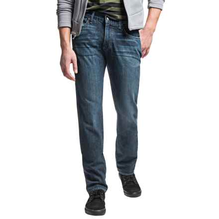 Agave Denim Classic Fit Jeans - Straight Leg (For Men) in Mulholland 4-Year - Closeouts