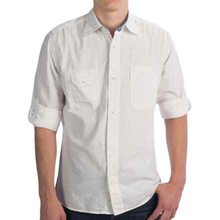 Agave Denim Craftsman Neps Chambray Work Shirt - Long Sleeve (For Men) in Cloud - Closeouts