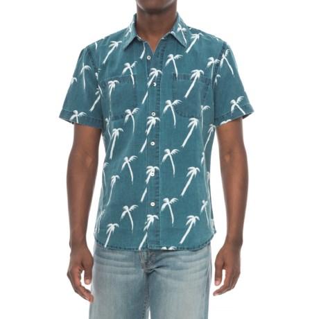 Agave Denim Denim Coachella Palm Shirt - Short Sleeve (For Men)