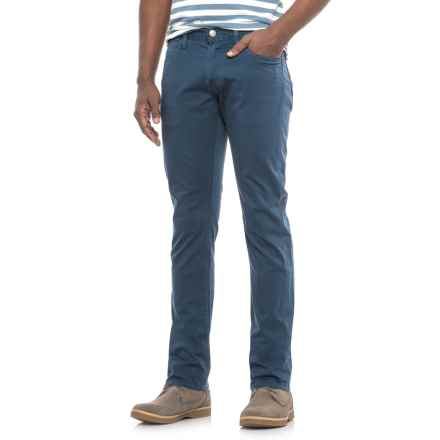 Agave Denim Denim Pragmatist Northstar Sateen Pants - Straight Leg (For Men) in Eclipse - Closeouts