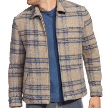 Agave Denim Diamondback Soft Coat - Full Zip (For Men) in Beige Plaid - Closeouts