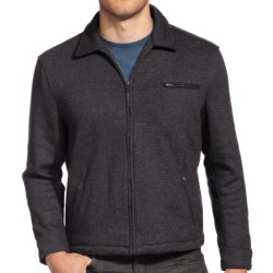 Agave Denim Diamondback Soft Coat - Full Zip (For Men) in Black