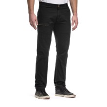 Agave Denim Drakes Airman Flex Jeans- Slim, Straight (For Men) in Jet Black - Closeouts