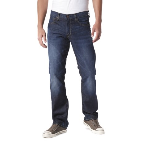 Agave Denim Gringo Agate Beach Jeans - Classic Fit (For Men) in Dark Indigo