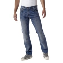 Agave Denim Gringo Capistrano Vintaged Jeans - Classic Fit (For Men) in Med Indigo - Closeouts