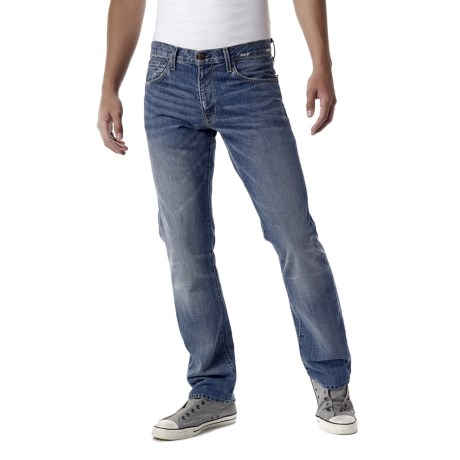 Agave Denim Gringo Capistrano Vintaged Jeans - Classic Fit (For Men) in Med Indigo