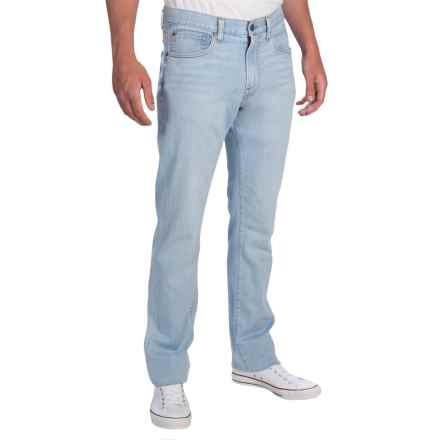 Agave Denim Gringo Cloud Touch Light Jeans - Classic Fit, Straight Leg (For Men) in Light Indigo - Closeouts