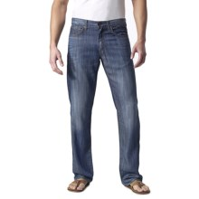 Agave Denim Gringo Fan Shell Stripe Jeans - Classic Fit (For Men) in Fan Shell - Closeouts