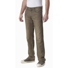Agave Denim Gringo Moss N Sea Jeans - Classic Fit, Cotton-Linen (For Men) in Moss - Closeouts