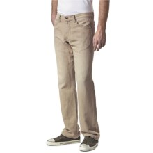 Agave Denim Gringo Sand N Sea Jeans - Classic Fit (For Men) in Sand - Closeouts