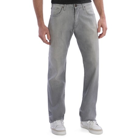 Agave Denim Gringo Santiago Jeans - Classic Fit (For Men) in Grey