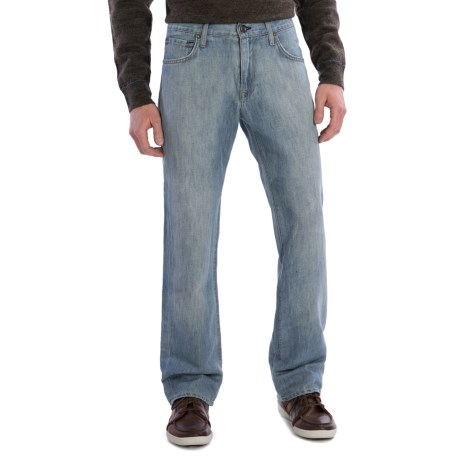 Agave Denim Gringo Sky N Sea Jeans - Classic Fit (For Men) in Lt Indigo