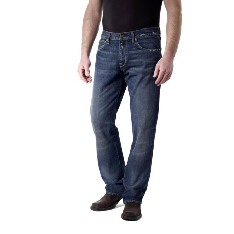 Agave Denim Gringo Sundowner Vintage Jeans - Classic Fit (For Men) in Med Indigo