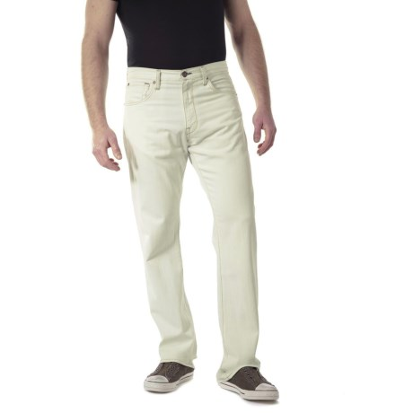 Agave Denim Gringo White Indigo Jeans - Classic Fit, Supima® Cotton (For Men) in White Indigo
