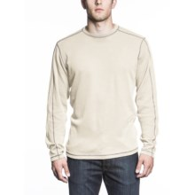 Agave Denim High Camp Shirt - Long Sleeve (For Men) in Cream - Closeouts