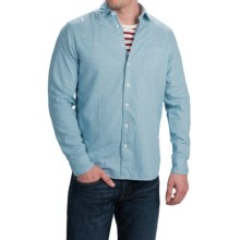 Agave Denim Hossegor Shirt - Long Sleeve (For Men) in Light Blue - Closeouts
