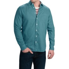 Agave Denim Hossegor Shirt - Long Sleeve (For Men) in Teal - Closeouts