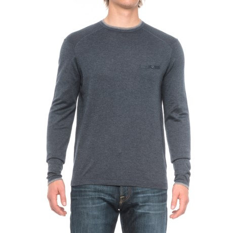 Agave Denim Lexington Sweater - Cotton-Modal (For Men) in Ag-India Ink