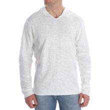 Agave Denim Lobster Hoodie Sweatshirt - Vintage Slub Cotton Jersey, Long Sleeve (For Men) in Bright White - Closeouts
