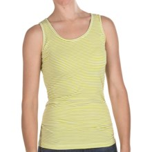 Agave Denim Marina Tank Top - Pique (For Women) in Citronelle - Closeouts