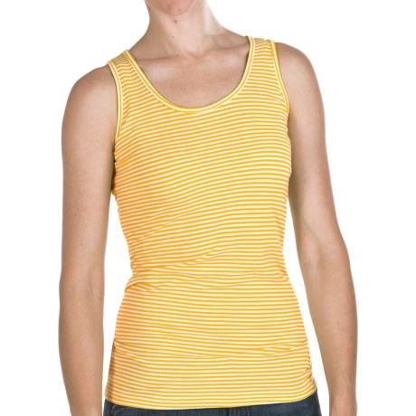 Agave Denim Marina Tank Top - Pique (For Women) in Citrus