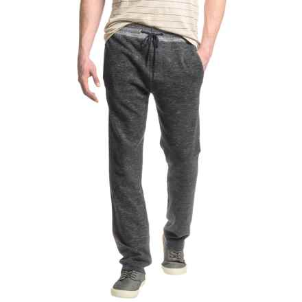 Agave Denim Marion Lounge Pants (For Men) in Caviar Black - Closeouts