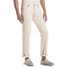 Agave Denim Maverick White Selvage Jeans - Button Fly, Slim Fit (For Men) in White - Closeouts