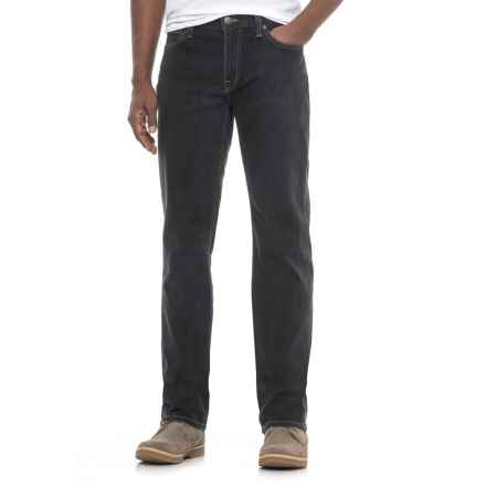 Agave Denim No. 11 Classic Graniteville Jeans - Straight Leg (For Men) in Graniteville Black - Closeouts