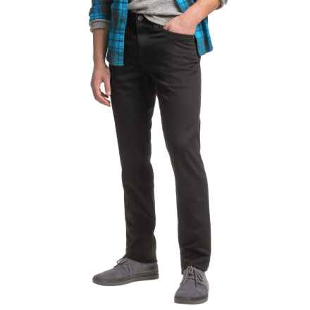 Agave Denim No. 11 Classic Leadfield Twill Denim Jeans - Straight Leg (For Men) in Black - Closeouts