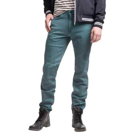 Agave Denim No. 11 Classic Leadfield Twill Denim Jeans - Straight Leg (For Men) in China Blue - Closeouts