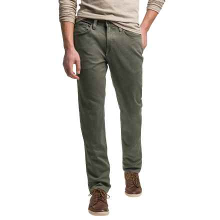 Agave Denim No. 11 Classic Leadfield Twill Denim Jeans - Straight Leg (For Men) in Tarmac - Closeouts