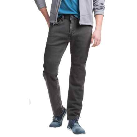 Agave Denim No. 12 Athletic Fit Straight-Leg Jeans - Terry Tech Gray (For Men) in Terrytech Gray - Closeouts