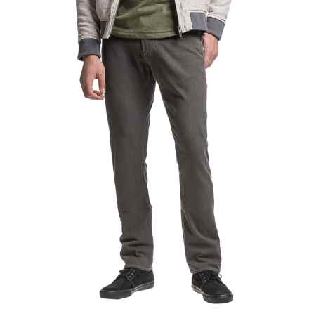 Agave Denim No. 31 Pragmatist Classic Cut Straight-Leg Jeans - Driftwood Vintage Brown (For Men) in Vintage Brown - Closeouts